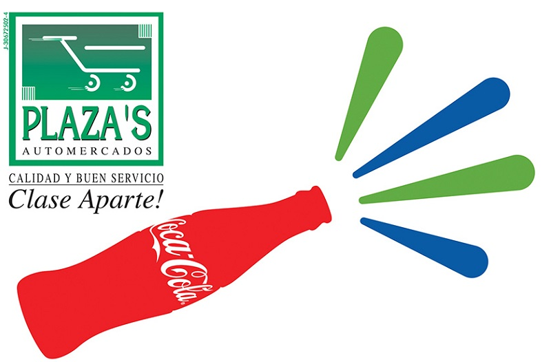 Coca Cola y Automercados Plazas