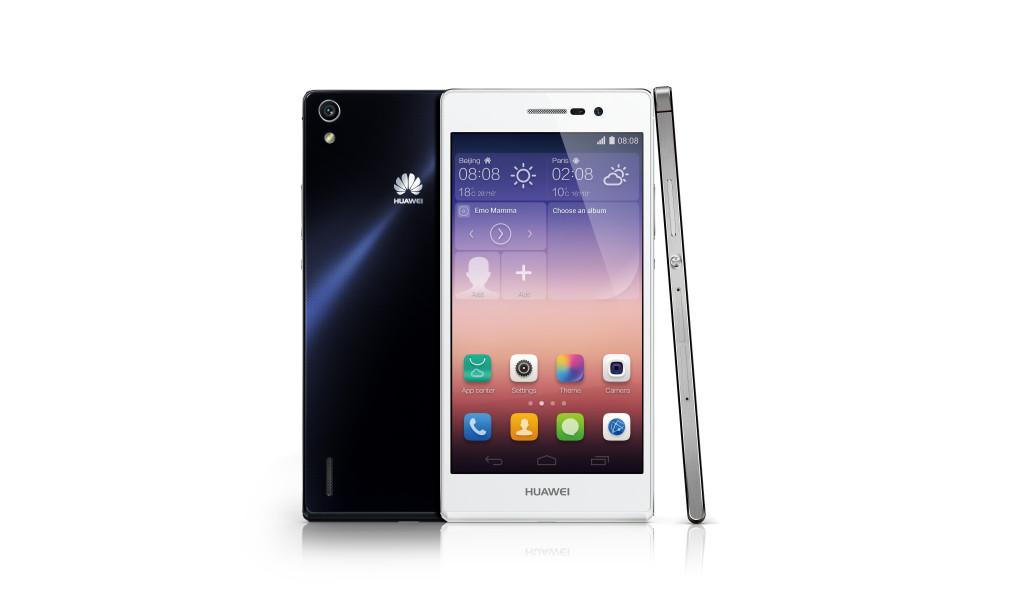 Huawei Ascend P7_Groupshot_Product photo_whiteBG1