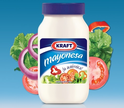 Mayonesa Kraft nueva imagen 2014