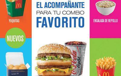Acompañantes McDonald's Venezuela