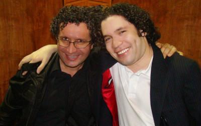Alberto Arvelo y Gustavo Dudamel
