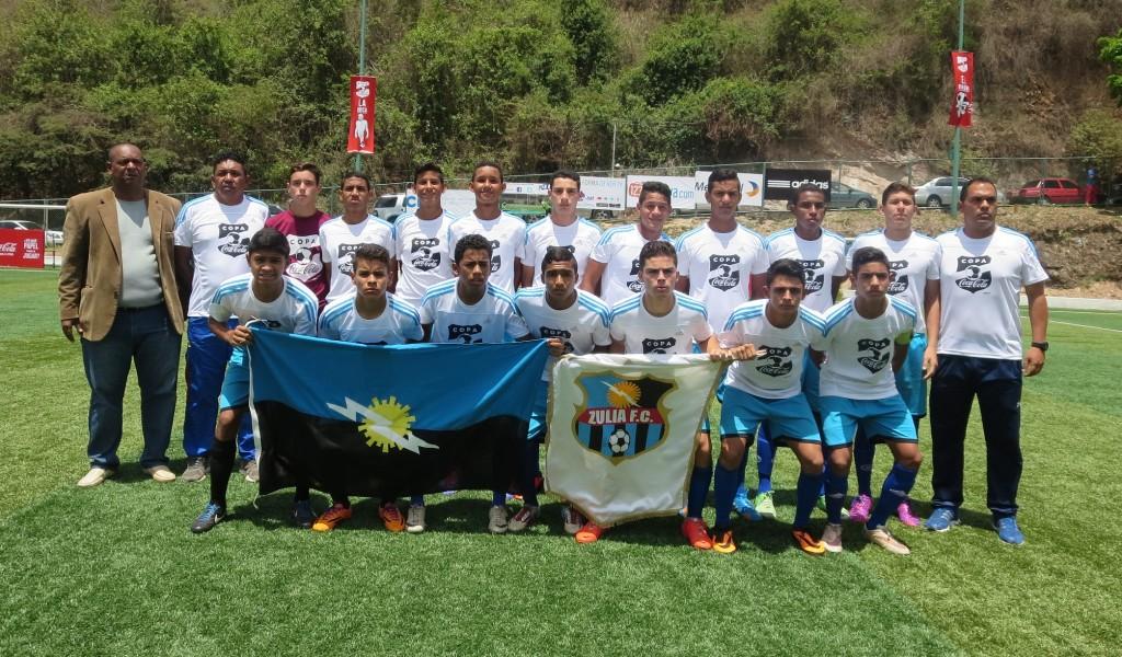 Copa Coca-Cola 2015 Zulia FC Campeón 1
