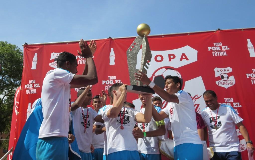 Copa Coca-Cola 2015 Zulia FC Campeón 5