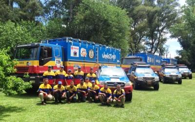 El Team Azimut en Argentina.